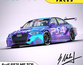 Audi RS3LMS 3D model