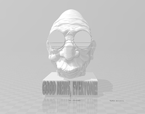 Good News Everyone Professor Hubert J 3D print model 1