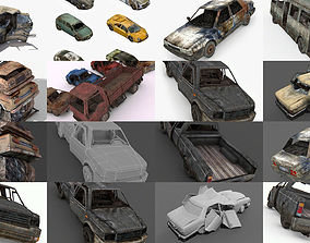 3D model Damage Vehicles Collection