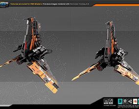 SF Fighter ZR3 3D asset