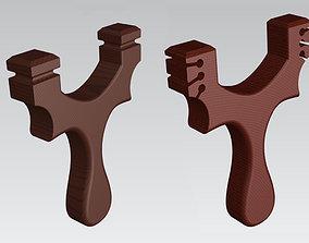 hand Slingshot 3D print model