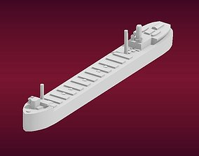 3D print model The Great Lakes Freighter