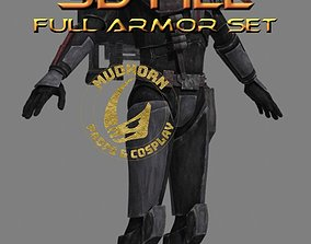 3D model Cosplay Armor - Crosshair - Bad Batch - Star 2