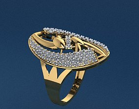 wedding Gold Ring 3D print model