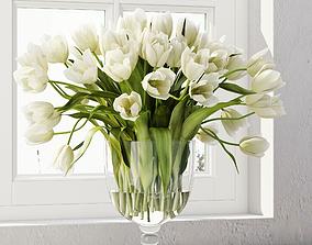 3D model Tulip centerpiece