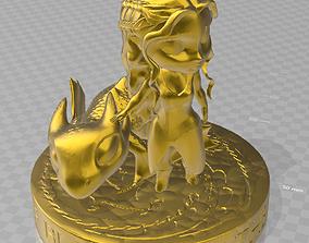 3D printable model Daenerys and drogo chibi