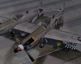 3D model North American P-82 Twin Mustang