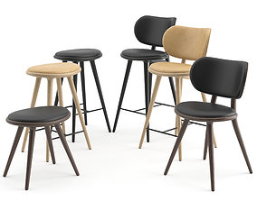 3D Chairs and Stools Collection by Mater
