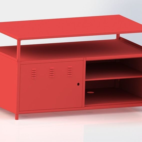 Metal cabinet for companys