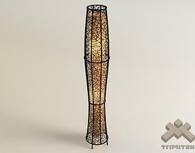 3D asset Exotic Mesh Lamp - Medium