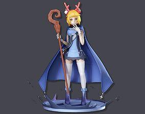 3D print model Summoner girl