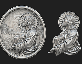 Jesus Prayer Medallion and Pendant 3D printable model
