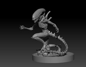 Alien - Xenomorph 3D printable model print