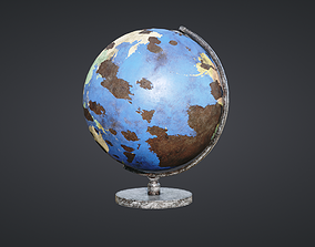 3D model Globe Old and New