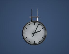 Clock Game Ready 3D model