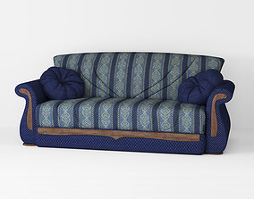 low-poly Armchair sofa Low-poly 3D model