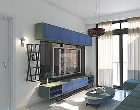 3D model mavi LIVING ROOM