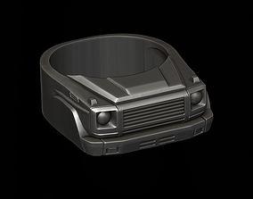 car ring 35 3D print model