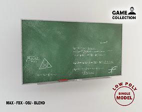 Blackboard 1 3D asset