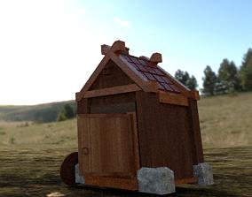 Viking House 3D asset
