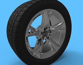 3D Audi A5 wheel