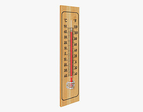 Indoor thermometer 3D model