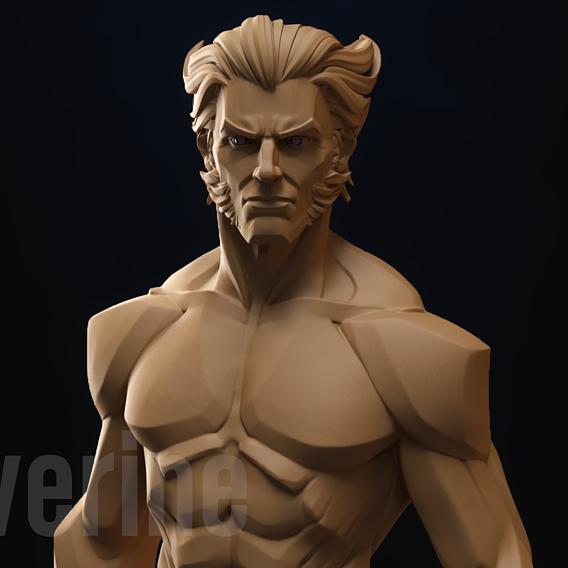 Wolverine 3d print