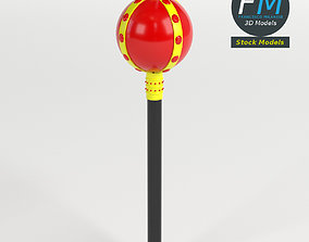 3D model Toy royal scepter