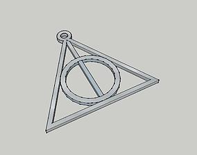 3D print model Harry potter - Deathly hallow - les 4