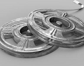 Film-Reel 3D model