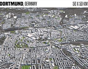 3D model Dortmund Germany