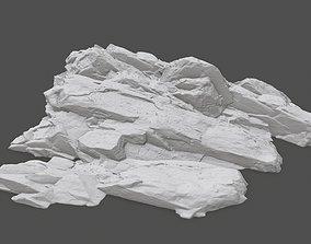 3D print model rock 30
