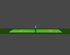 Tennis court tennis 3D