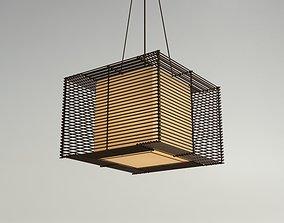 3D KAI Square Pendant Lamp - Medium