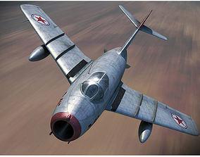 MIG 15 Aircraft 3D model