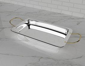 Fuente de metal - Metal Platter - LAEVA 3D model
