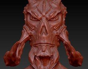 ugly alien 3D print model