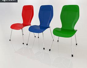 3D asset low-poly Chair SP