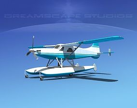 DeHavilland DHC-2 Turbo Beaver V02 3D model