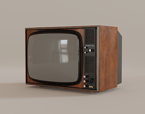 3D model Retro TV retro