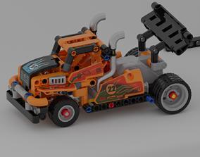 3D LEGO Race truck