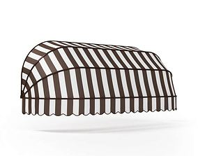 Striped awning 60 am95 3D model