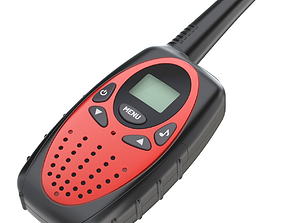 Walkie Talkie electronics 3D
