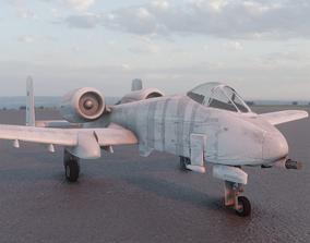 A-10 warthog 3D asset