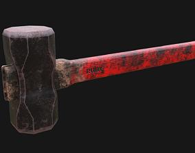 tool 3D model Sledgehammer Rubin