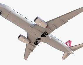 3D model Boeing 737-800 Turkish Airlines High