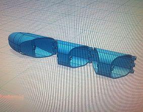 3D robotic finger concept