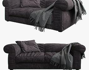 3D model baxter ALFRED Sofa small Plaid