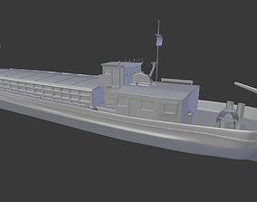 3D model barge