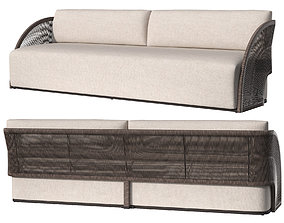 3D OUTDOOR PAVONA SOFA 2450 mm 2021 by RESTORATION